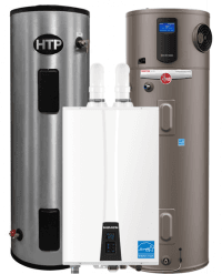 10% Off High-efficiency and Lifetime Water Heaters