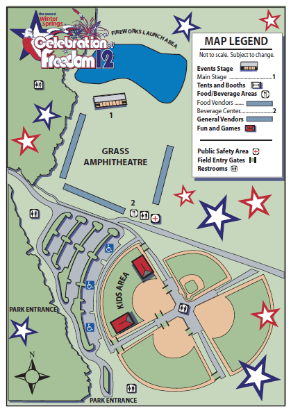 Central Winds Park Map | Winter Springs | Modern Plumbing Industries, Inc.