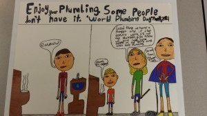 World Plumbing Day - 1st Prize (iPad and $500)