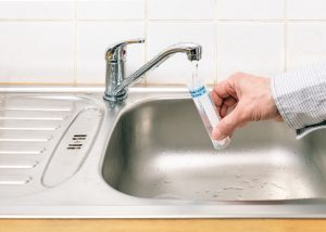 water-testing-at-sink